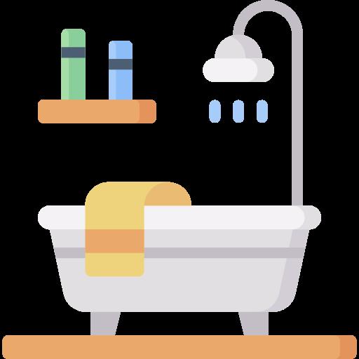 Desenho de banheiro