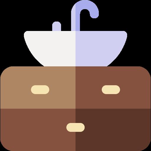 Desenho do lavabo