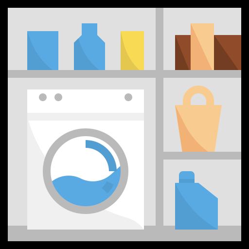Desenho da lavanderia